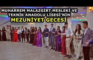 Yüksekova Muharrem Malazgirt Mesleki Ve Teknik Anadolu Lisesi'nin Mezuniyet Gecesi